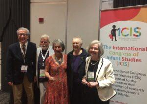 Distinguished Contribution Award winners - Lew Lipsitt, Michael Lewis, Susan Rose, Frances Horowitz, Rachel Keen